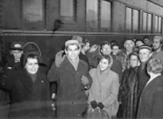 Soprons arriving in BC - 1957