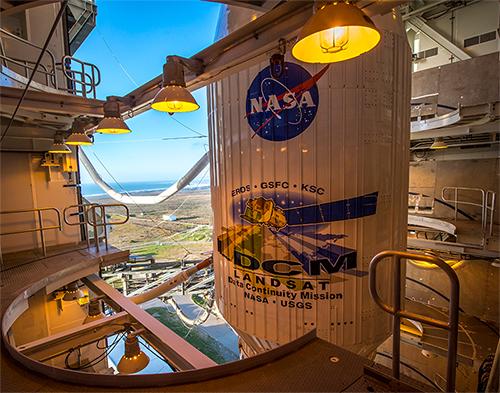 LDCM launch at Vandenberg Air Force Base in California. Image credit: NASA/ Bill Ingalls
