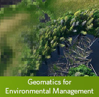 Learn more about the Master of Geomatics for Environmental Management