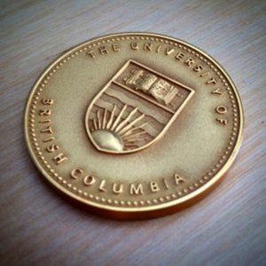 UBC President's Service Award for Excellence